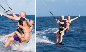 Richard Branson goes double