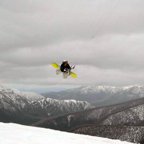 Snowkiting 2014