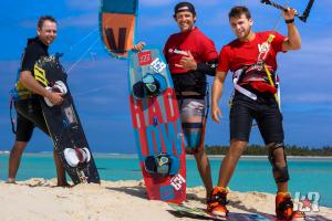 Kitesurf Aitutaki WOO