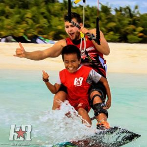 Aitutaki winter scape
