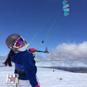 snowkiting tour
