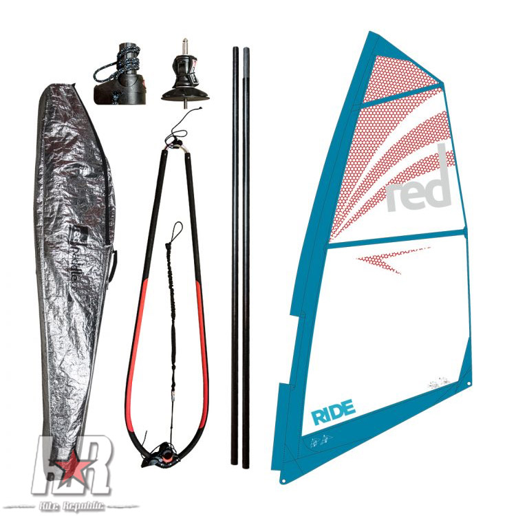 Red Paddle Ride Rig Windsurf Sup Rig Red Paddle Kite Reublic