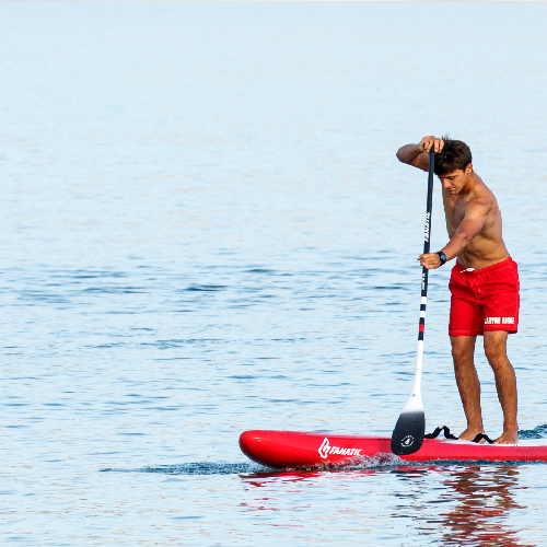 PADDLE BOARDING LESSONS
